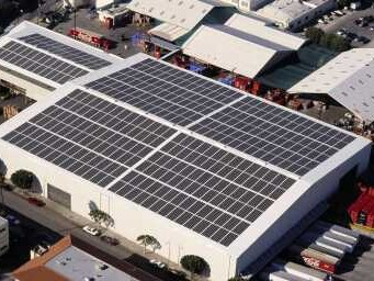 Warehouse With Solar