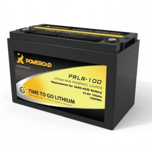 Poweroad 100AH Lithium Ion Auxiliary Battery