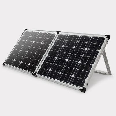 Instapower 130 W 12 V Mono Foldable Solar Panel