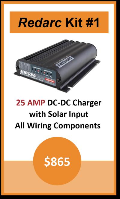 Dual Battery Kit Redarc 20AMP