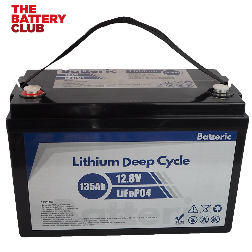 Li Battery Batteric 135Ah Top