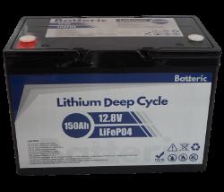 Li Battery Batteric 150Ah Top2Web