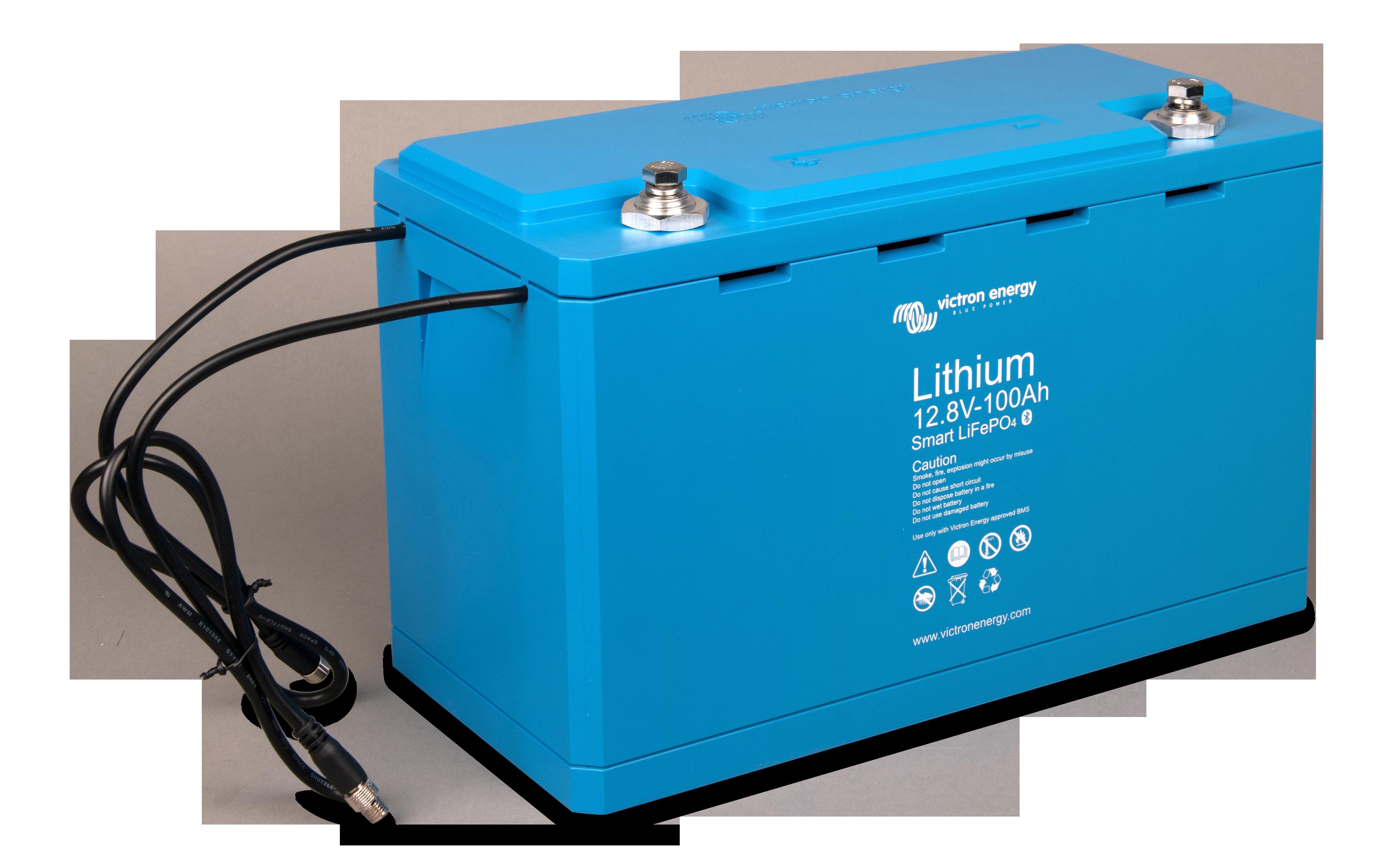 Li Fe Po4 Battery 12 8 V 100 Ah Smart Right Angle