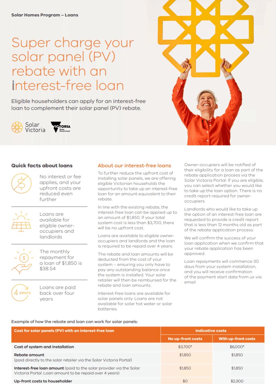 Solar Homes Fact Sheet Homes Loan