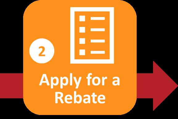 Solar Process Step 2 Apply For Rebate