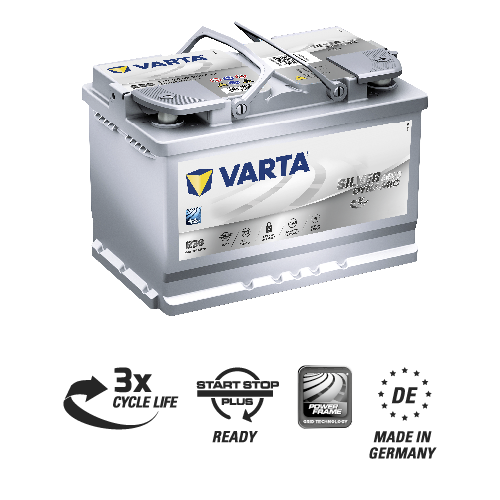Varta Agm Product Image With Icons 570901076