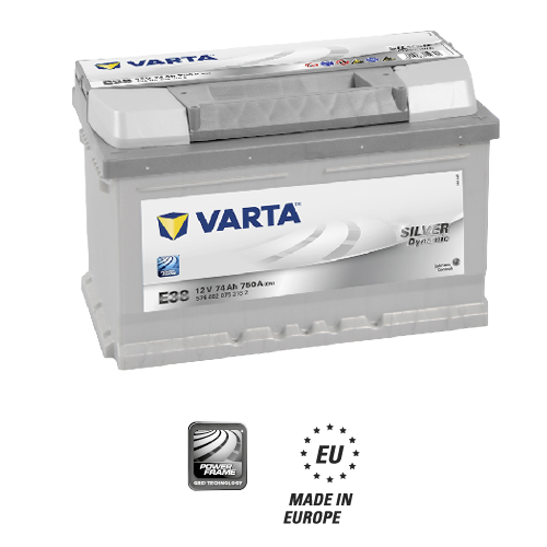 Varta Silver Dynamic With Icons 574402075